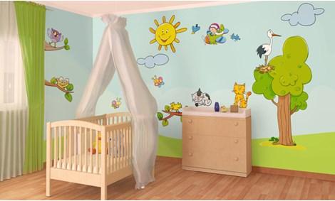 Disegni camerette bimbi cool disegno idea murales camerette decorazione per camerette bambini - Decorazioni murali ikea ...